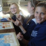 """5th Graders Paint the Town with the """"City"""" Lesson in the Art Docent Program"""