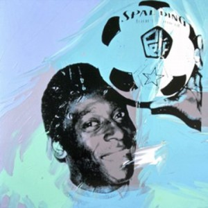 """Pelé,"" by Andy Warhol"
