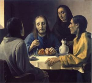 """Supper at Emmaus,"" by Han van Meegeren. 1936-37."