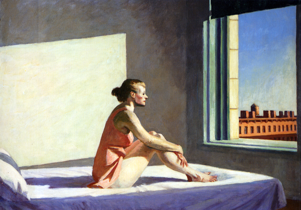 """Morning Sun,"" by Edward Hopper, 1952."