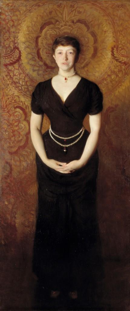 """Isabella Stewart Gardner"" by John Singer Sargent, 1888."