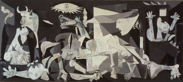 """Guernica"" by Pablo Picasso (1937, Museo Reina Sofia)"