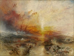 """The Slave Ship,"" by J.M. Turner (1840, Museum of Fine Arts, Boston)"