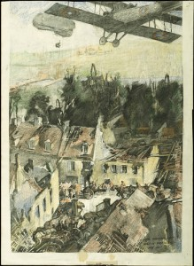 """""""Valley of the Marne at Mont St. Père"""" by George Harding. Photo courtesy Smithsonian Institute."""