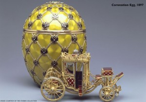 Coronation egg, 1897. c/o  faberge.com and the Forbes Collection