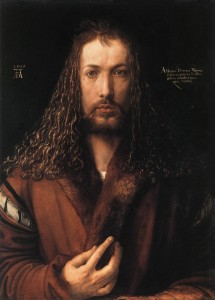 Albrecht Dürer's self-portrait at 28