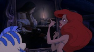 "The Mystery Painting in ""The Little Mermaid"" c/o becuo.com"