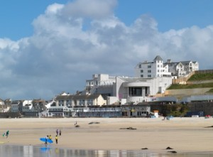 The Tate St. IVes, which is legit on a beach.