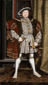 Henry VIII, Workshop of Hans Holbein c/o Wikimedia