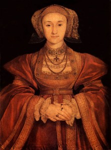 Holbein's portrait of Anne of Cleves, c/o tudorhistory.org