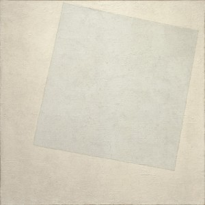 """Malevich's """"White on White"""" (c/o MoMA). Do we really have to choose whether modern art or Renaissance art is """"better""""?"""