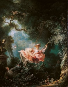 "Fig. 5.1 Fragonard's ""The Swing"""