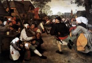 """Bruegel the Elder's """"The Peasant Dance"""""""