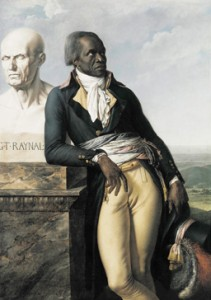 Girodet's portrait of Jean-Baptiste Belley, c/o artic.edu
