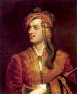 """George Gordon Byron, 6th Baron Byron"" by Thomas Phillips c/o englishhistory.net"