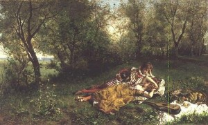 "Serrure's ""The Picnic."""
