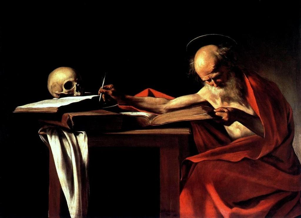 Caravaggio, Saint Jerome 1606