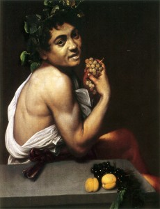 "Caravaggio, ""Young Sick Bacchus,"" 1593"