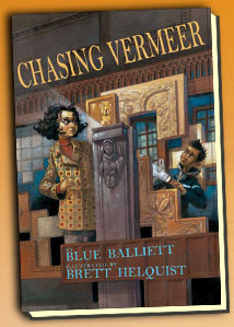 """Chasing Vermeer"" by Blue Balliett. c/o scholastic.com"