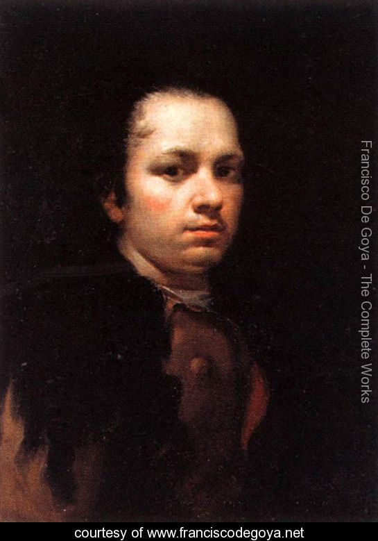 One of Francisco Goya's self-portraits. c/o franciscodegoya.net