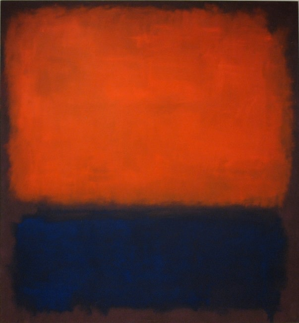 """Mark Rothko's """"No. 14, 1960,"""" which may make an appearance in Marvel's Ant-Man. c/o markrothko.org"""
