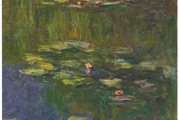 "Claude Monet's 1919 work ""Le bassin aux nympheas"" was one of many pieces sold during New York's Auction Week. Picture c/o The Art Newspaper"