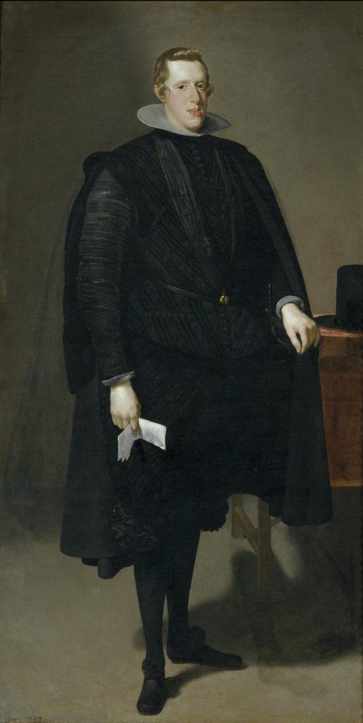 Velázquez 's 1623 portrait of King Philip IV of Spain. Image c/o Museo del Prado.