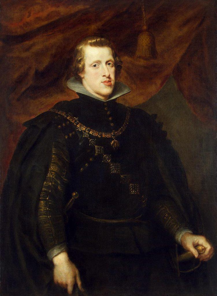 Rubens' portrait of King Philip IV. Image c/o wikimedia.org.