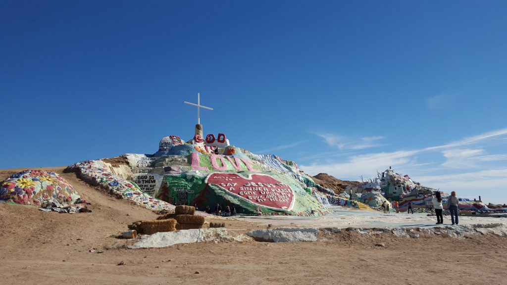 Salvation Mountain. Photo c/o Lindsay Call.