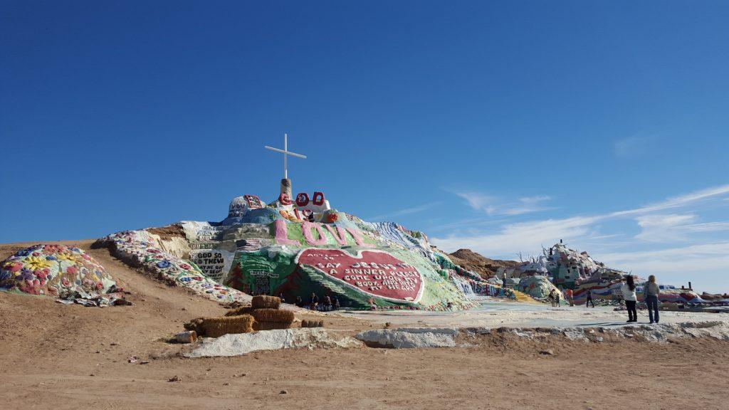 Salvation Mountain. Photo c/o Lindsay Call.