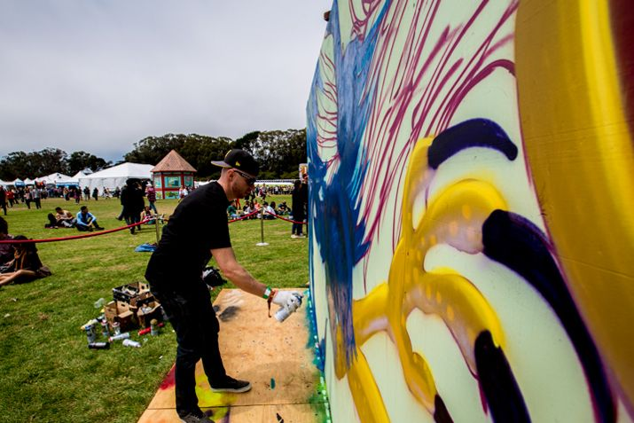Outside Lands also annually features tons of artists. Image c/o cultivora.com and Outside Lands.