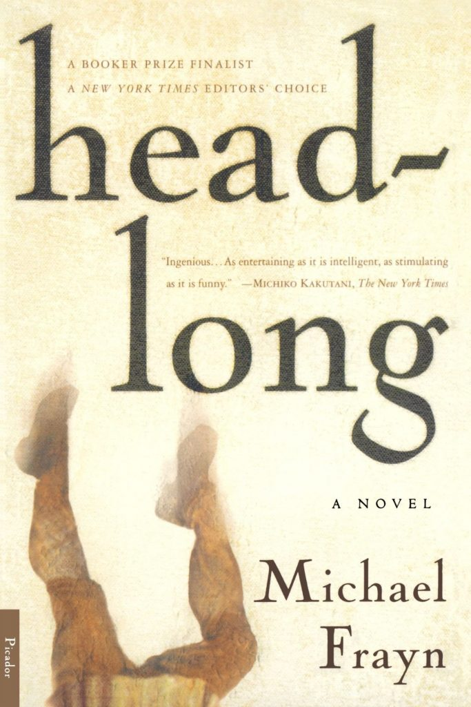 Playwright Michael Frayn's novel Headlong is filled with both laughs and serious questions about the nature of authentication and greed itself. Image c/o Amazon.