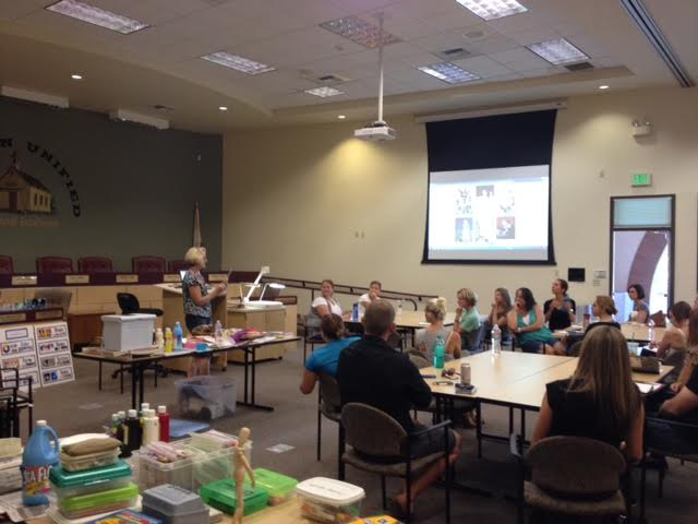 Amy leading the September 7 training. Image c/o Amy Scherschligt and Heidi Grasty