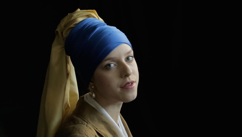 Why not go full Vermeer this Halloween and recreate Girl with a Pearl Earring? Image c/o Brit + Co and Planet 5D.