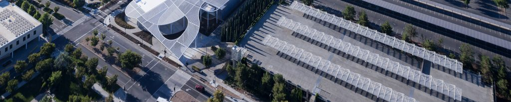 The Manetti Shrem Museum of Art, seen from above. Image c/o manettishremmuseum.ucdavis.edu