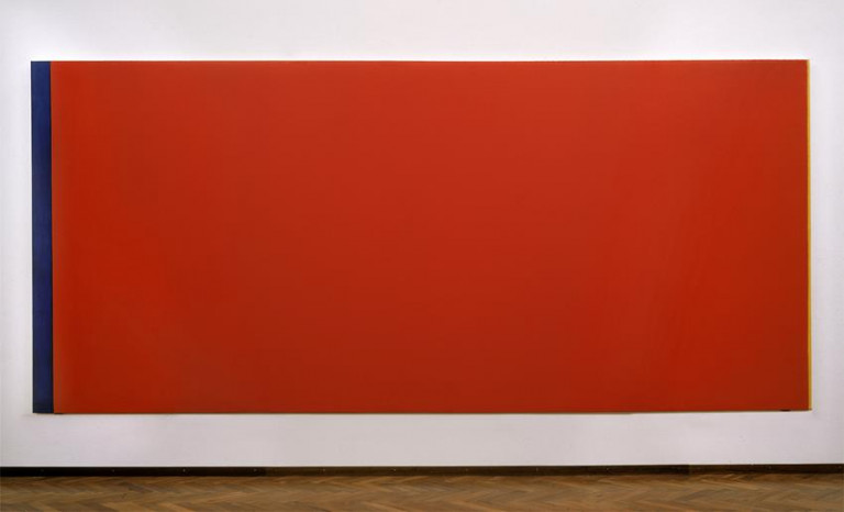 Who's Afraid of Red, Yellow, and Blue III, Barnett Newman, 1967-1968.