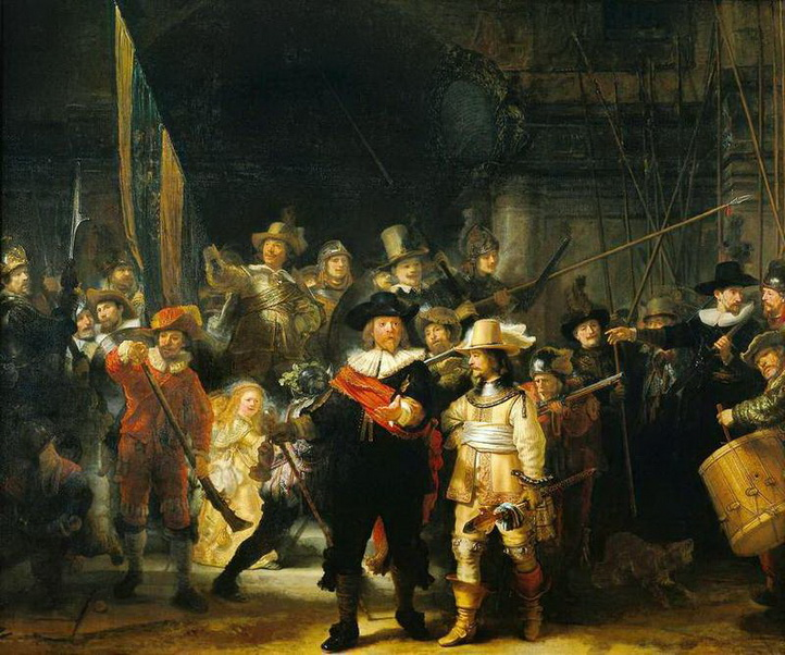 The Night Watch, Rembrandt