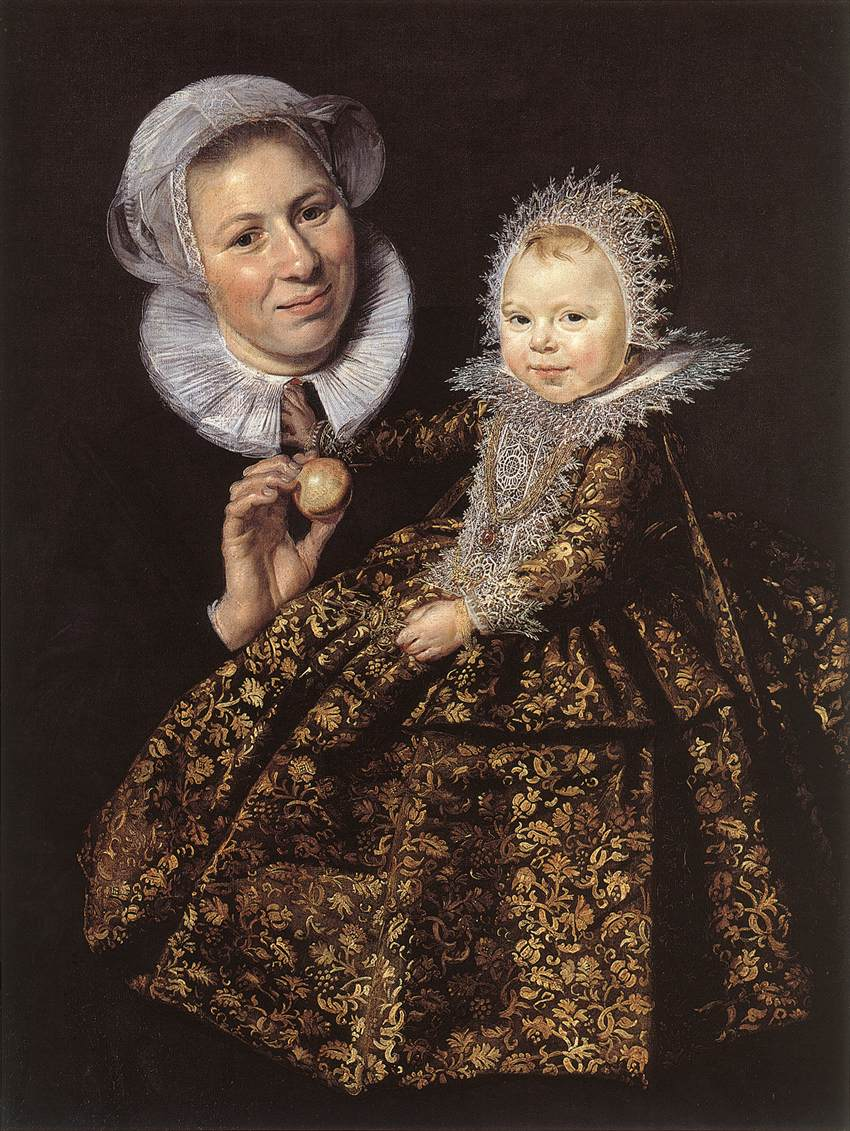 Catharina Hooft and her Nurse, WGA