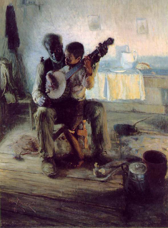 The Banjo Lesson, Henry Ossawa Tanner