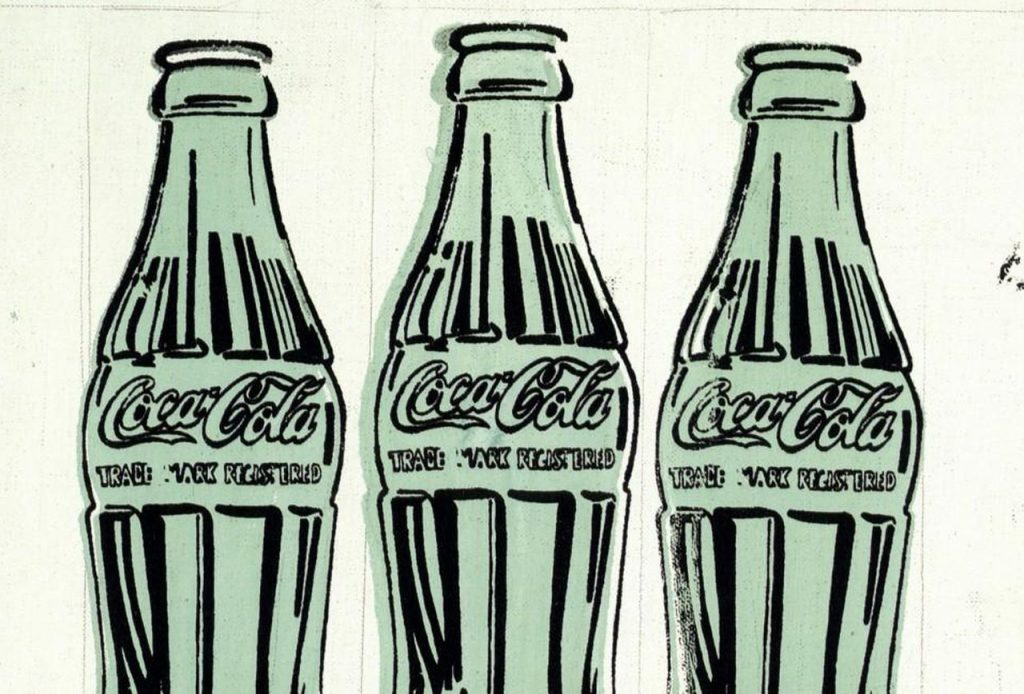 Andy Warhol Coke Bottles