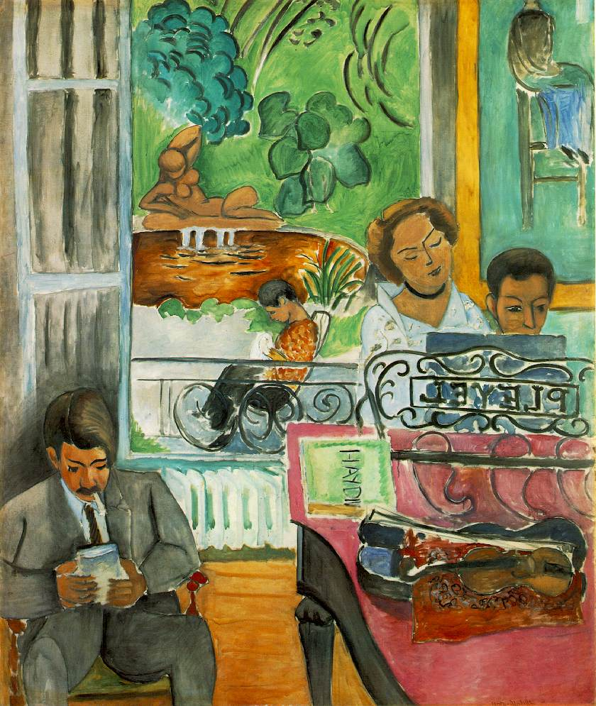 The Music Lesson, Matisse, 1917.