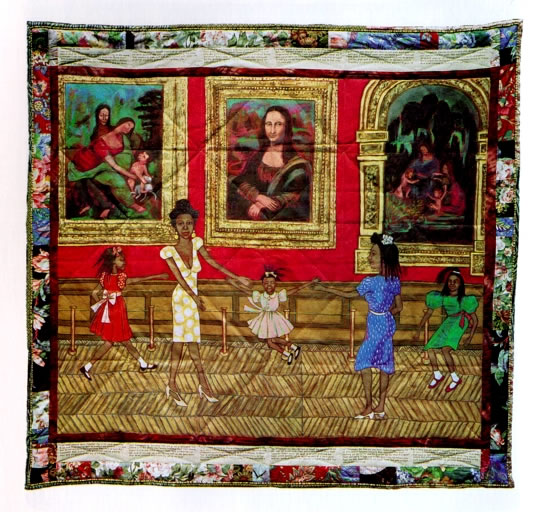 Dancing at the Louvre,1991, Faith Ringgold