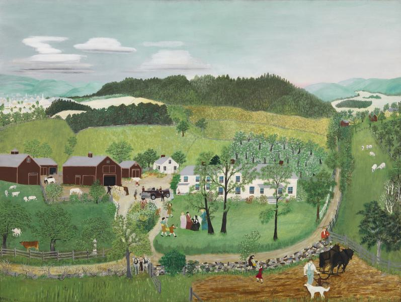 Grandma Moses Goes to the Big City