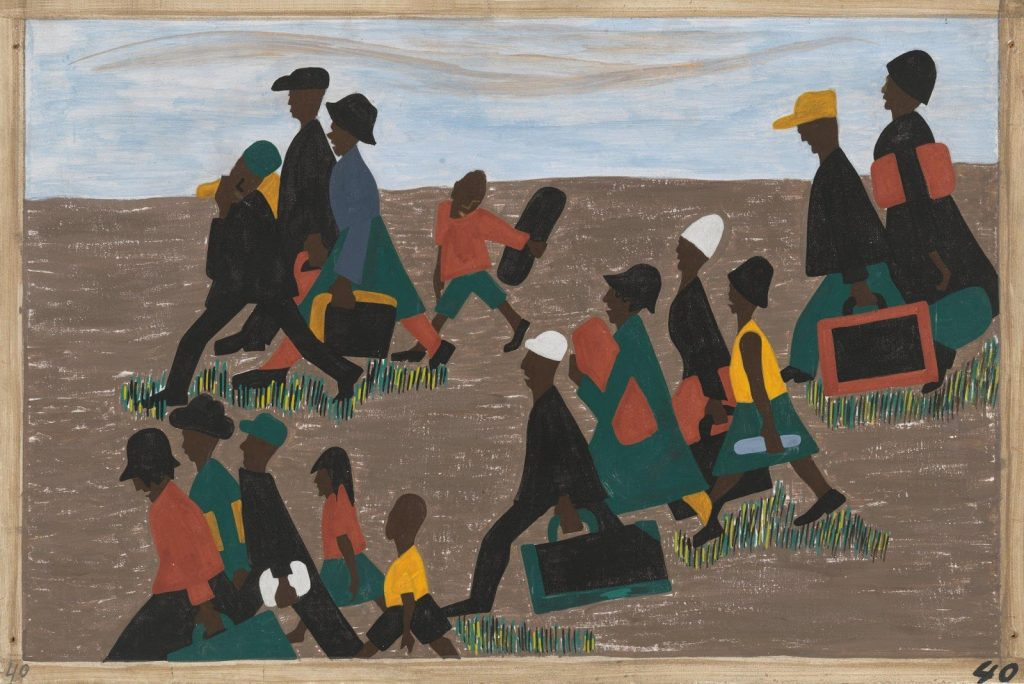Migration Series (#40), 1940-41, Jacob Lawrence