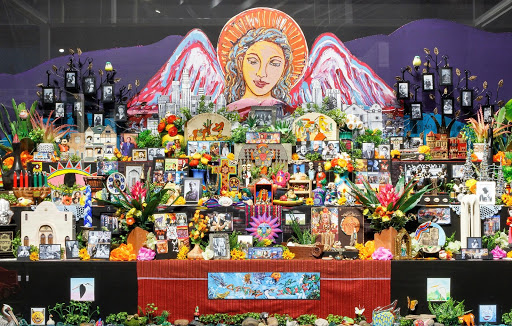 Ofelia Esparza, Altar to el Pueblo de Nuestra Señora la Reina de los Ángeles (the Town of Our Lady the Queen of Angels), 2018
