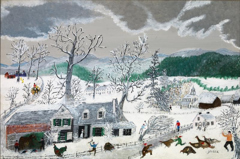 Turkeys Grandma Moses