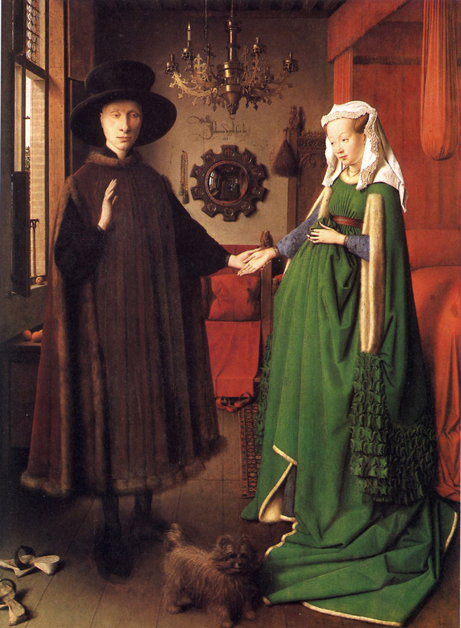 The Arnolfini Portrait, Jan Van Eyck.