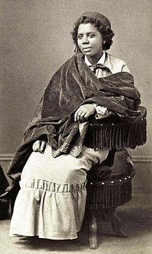 Edmonia Lewis, c/o Wikimedia Commons.
