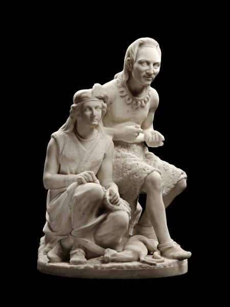 The Old Arrow Maker by Edmonia Lewis, c/o The Art Docent Program