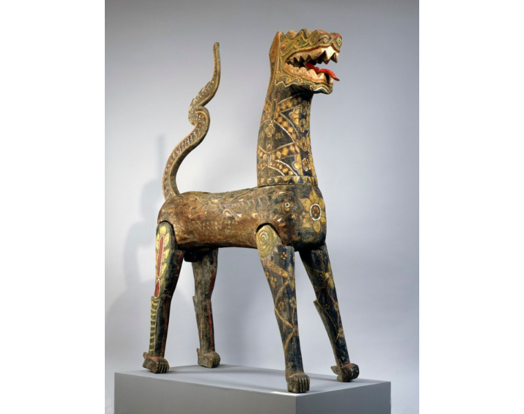 An unknown Thai artist's Guardian Lion, c. 17th-19th century. Image c/o the Denver Art Museum.